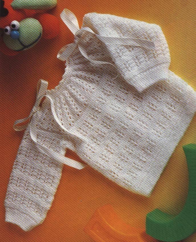 C mo hacer tejidos de beb tejer ropa de lana para tu beb - Como hacer un jersey de punto ...