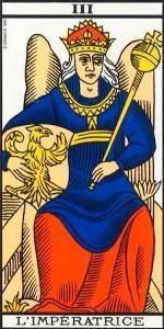 Carta La Emperatriz del Tarot