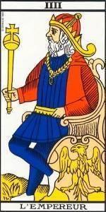 Arcano mayor El Emperador del Tarot