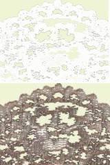 Textura de encaje