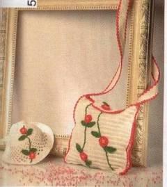 Bolso infantil a crochet
