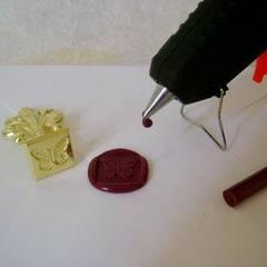 Cómo hacer sellos de lacre con silicón