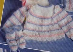 Cómo hacer un jersey tejido para bebé