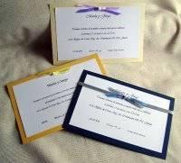 Cómo hacer un nudo sencillo para decorar tus tarjetas de boda