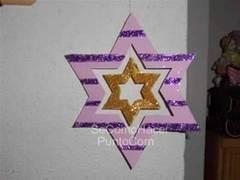 Estrellas para decorar el árbol de Navidad