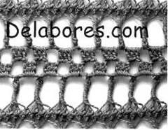 Cómo tejer uniones en labores de ganchillo con horquilla