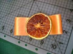 Invitación para bodas con naranja deshidratada