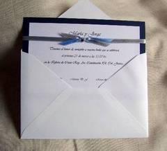 Invitaciones sencillas para boda