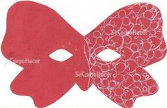 Máscaras de carnaval con moldes para imprimir