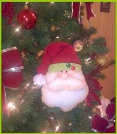 Muñecos country navideños