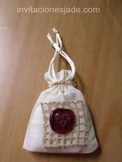 Souvenirs de boda en bolsitas