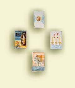 Tirada en cruz de las cartas del Tarot
