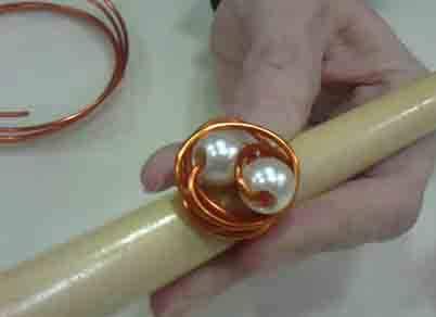 eb11f77f396b Anillos con alambre de cobre    Cómo hacer un anillo básico