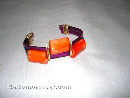 1928243f85f7 Cómo hacer pulseras y anillos con hilos mágicos o alambres    Anillo ...