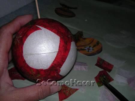 Como Decorar Bolas De Navidad De Poliespan.Bolas Para El Arbol De Navidad Como Hacer Bolas De