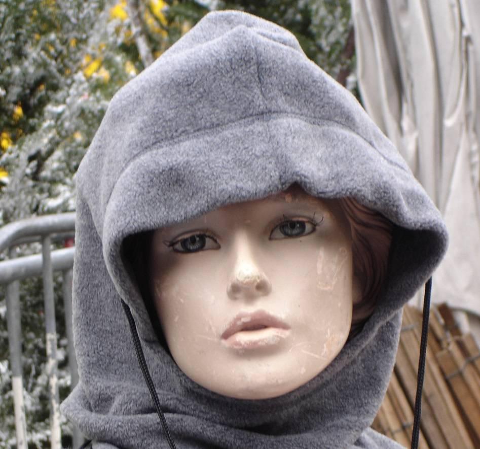 C mo hacer una capucha tejida a dos agujas - Como hacer punto de lana paso a paso ...