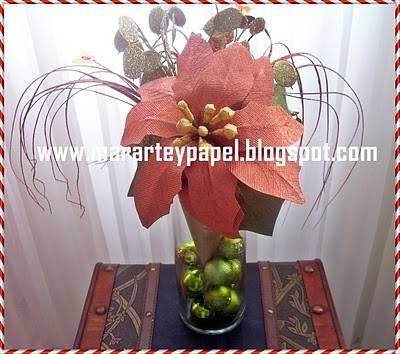 Centro de mesas navide os centros de mesa navide a - Centros florales navidenos ...