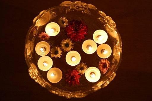 las velas flotantes siempre son una gran opcin para centros de mesa para decorar y para todo lo que tenga que ver con embellecer ambientes