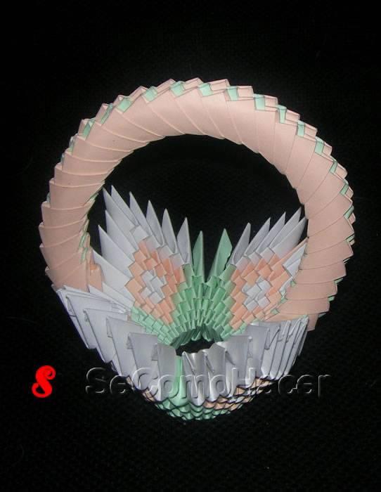 C mo decorar con cestas de papel 3 cestas de papel para decorar - Hacer cestas con papel de periodico ...
