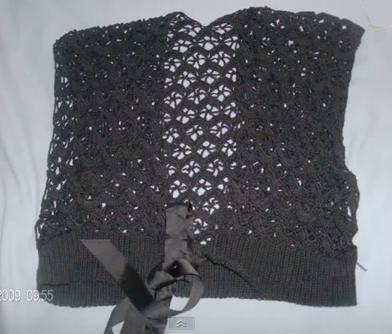 Chalecos de ganchillo paso a paso :: Cómo hacer chalecos tejidos a ...