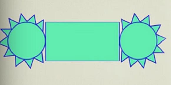 Cilindro para armar en cart n cartulina o papel for Como hacer un sobre rectangular