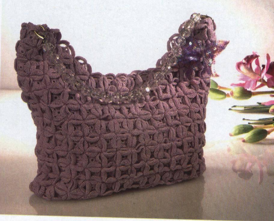 c mo hacer un bonito bolso tejido a crochet patrones On patrones para hacer bolsos de ganchillo