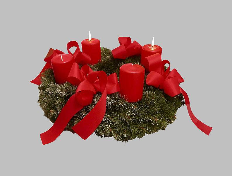 C mo hacer una corona navide a paso a paso - Como hacer guirnaldas de navidad ...
