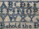 Letras a punto de cruz
