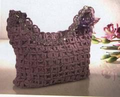 Cómo hacer un bonito bolso tejido a crochet