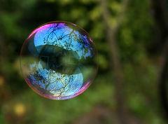 Burbuja de detergente