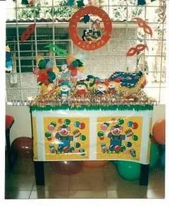Fiesta de payasos para niños