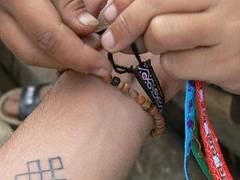 pulsera artesanal
