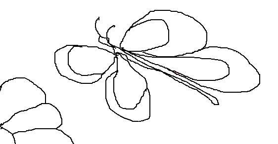 Dibujos De Flores Faciles Perfect Un Dibujo Para Pintar Con Los