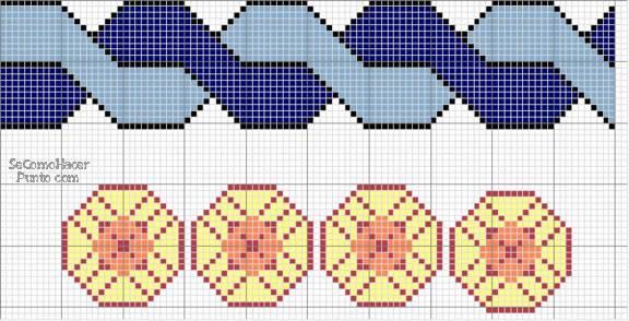 Dibujos para punto de cruz gratis :: Esquemas para punto de cruz ...