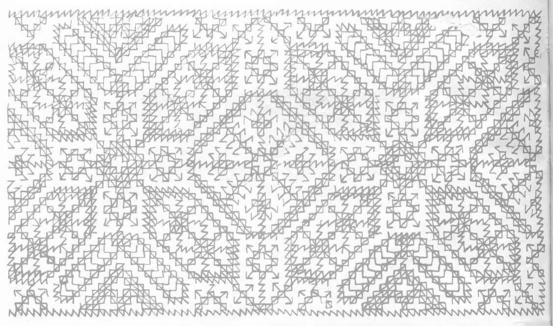Dise os para bordar alfombras marroqu es alfombras en for Alfombras etnicas