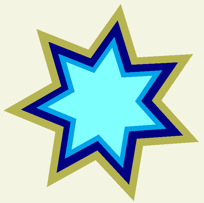 Plantillas para la decoraci n de tu fiesta de estrellas - Ideas para decorar estrellas de navidad ...