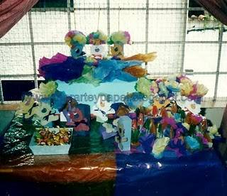 Decoraci n de fiestas de cumplea os para ni os peque os fiestas infantiles conejos y gaticos - Decoracion fiestas infantiles para ninos ...