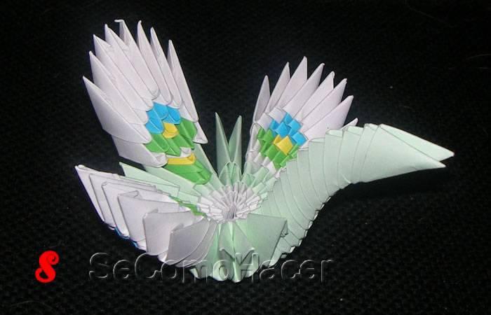 6 figuras de animales de origami en 3D :: 6 imágenes ...