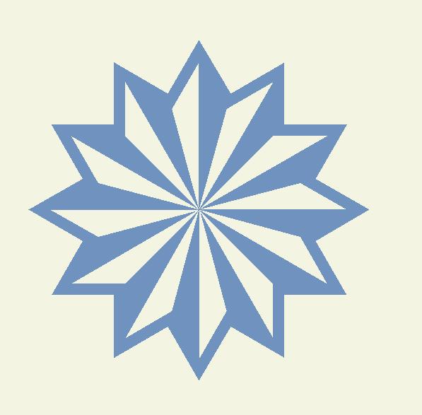 10 moldes de estrellas de frozen for Estrella de nieve
