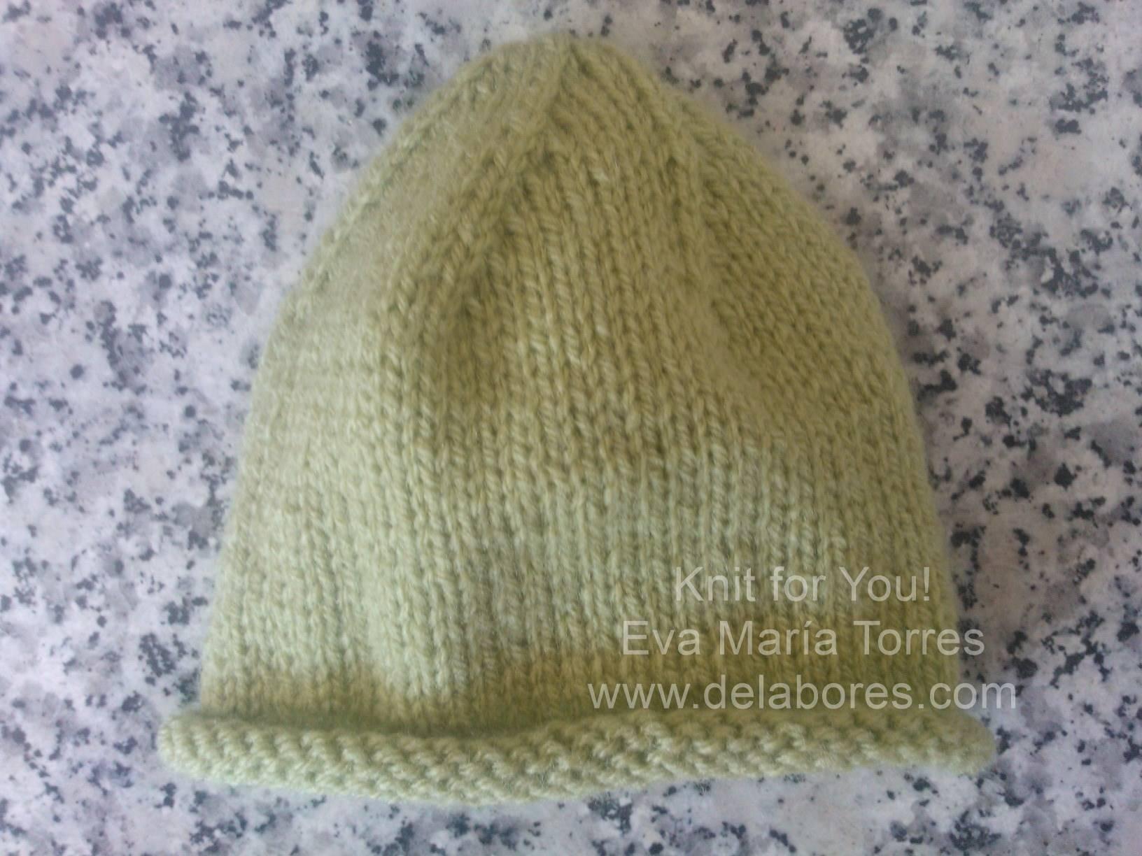 Cómo hacer un gorro de lana para bebé - Innatia.com 2be44816364