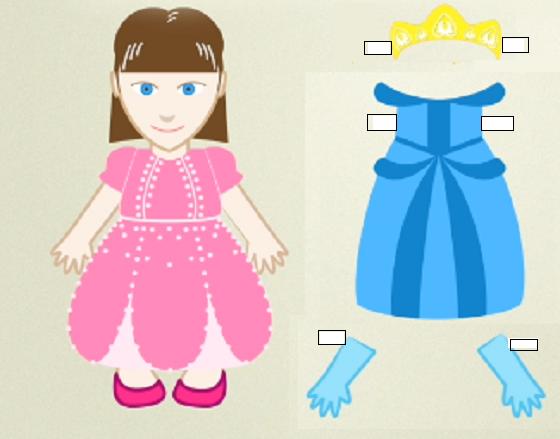 Juegos De Vestir Princesas Y Hadas Para Imprimir Y Jugar