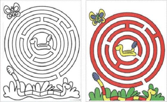 10 laberintos para imprimir, colorear y jugar :: Juegos de ...