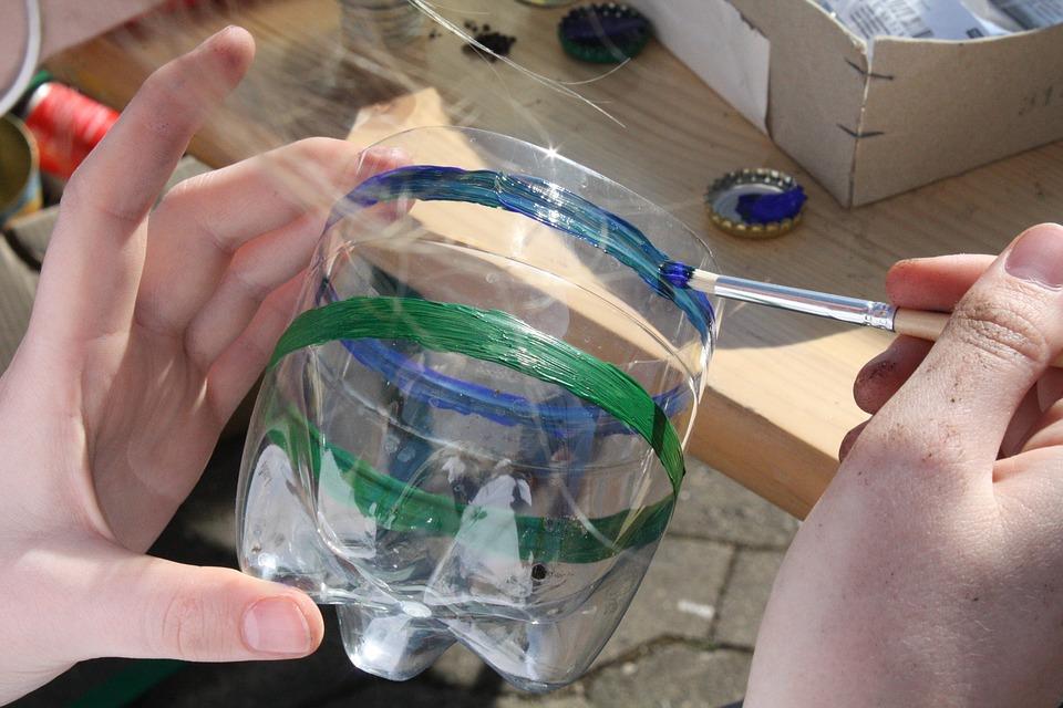Macetas De Botellas De Plastico Decoradas Para Ninos Muy Faciles De