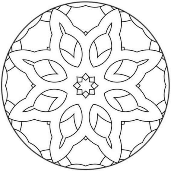Im genes de mandalas para imprimir dibujos de mandalas - Plantilla mandala pared ...