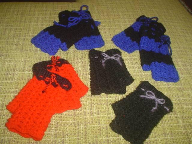 Mitones tejidos a crochet paso a paso - Innatia.com