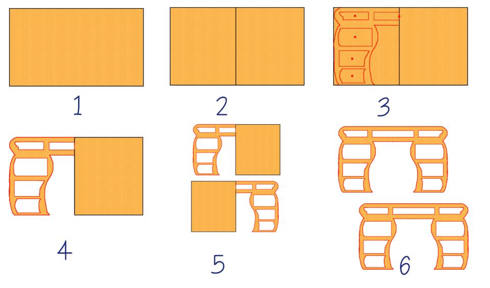 C mo hacer un mueble de cajas de cart n con cajones - Imagenes de muebles de carton ...