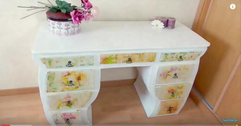 Como forrar un mueble con papel dise os arquitect nicos for Como empapelar un mueble