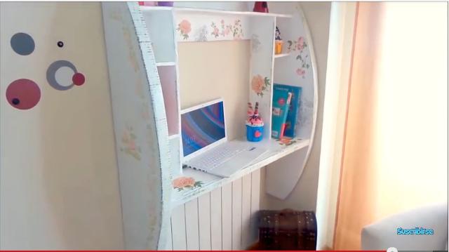 Mueble escritorio de cart n paso a paso por isa de for Galeria del mueble