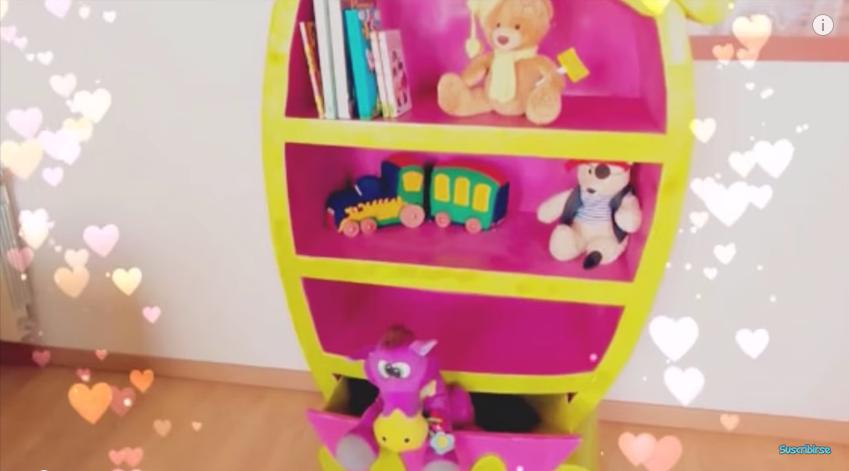 Como hacer un mueble de carton para guardar ropa - Mueble para guardar juguetes ...