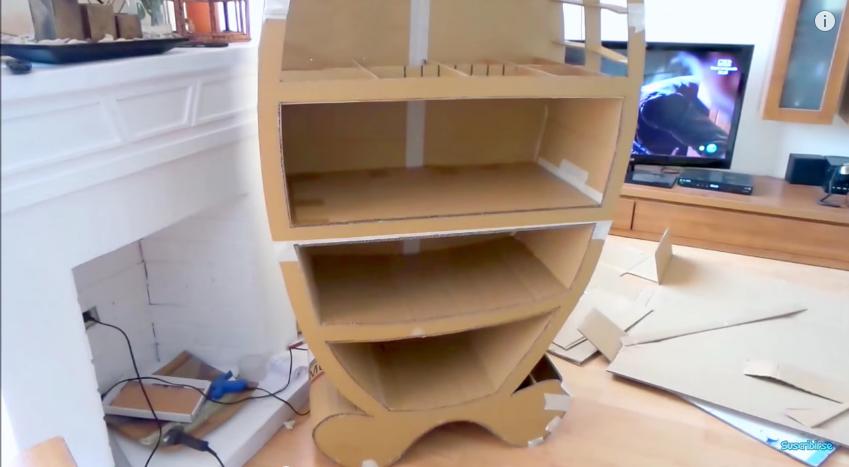 mueble para ropa de carton mueble de cartn para guardar los juguetes en el cuarto de los nios mueble de cartn para guardar los juguetes